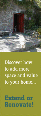Discover how to add more space and value to your home...